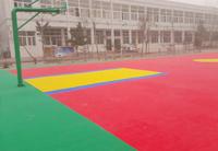尉氏博文学校篮球场地