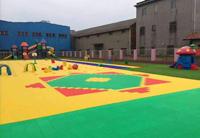 驻马店某示范幼儿园活动场地