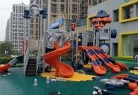 智慧树幼儿园-大型组合滑梯
