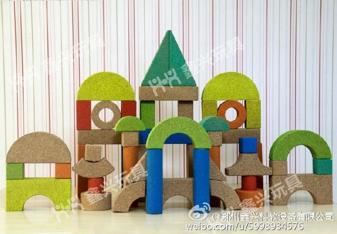 幼儿园软木积木