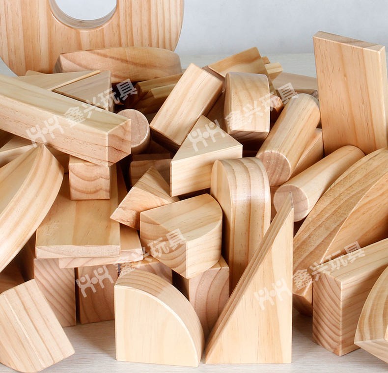 松木积木玩具