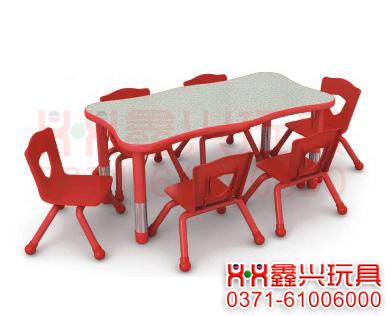 波特六人桌-幼儿园桌椅-幼儿园玩具.jpg