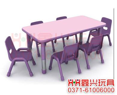 丽莎六人桌-幼儿园桌椅-<a href=http://www.zzxxwj.com/ target=_blank class=infotextkey>幼儿园玩具</a>.jpg