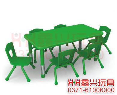 波特纯色六人桌-幼儿园桌椅.jpg
