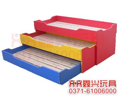 三合一儿童推拉床-幼儿园床.jpg