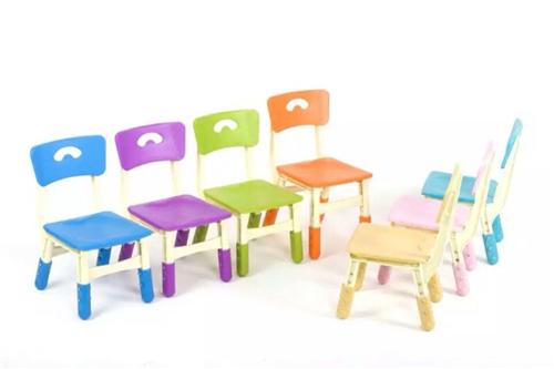 幼儿园彩色塑料小椅