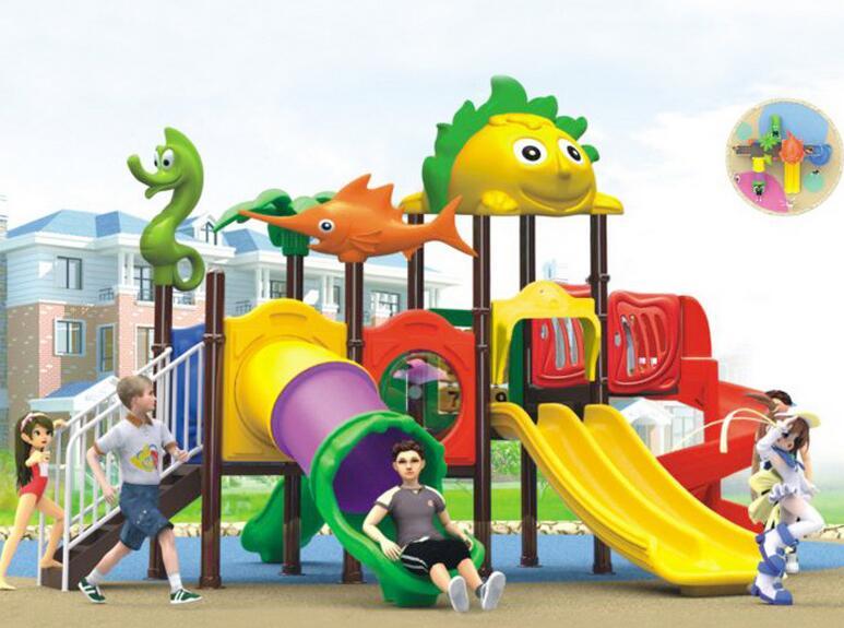 幼儿园大型滑梯