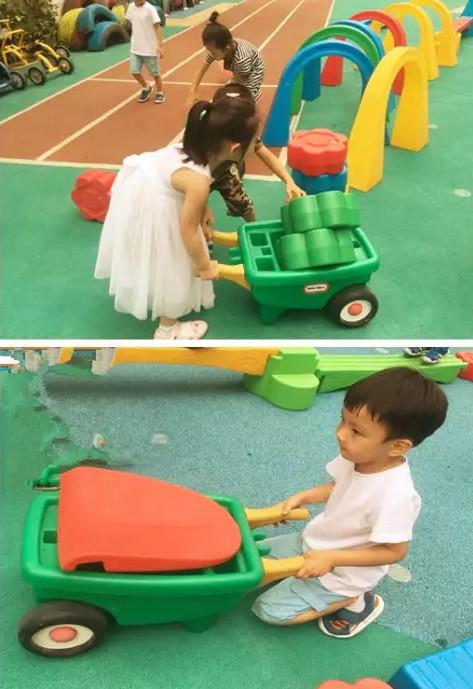 儿童小推车