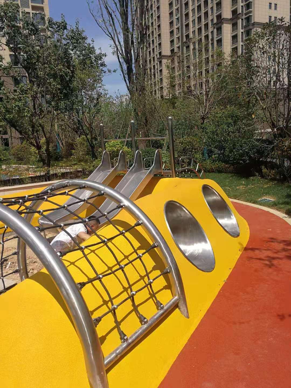 不锈钢定制滑梯