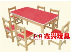 木制防火板课桌