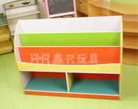 幼儿园书架柜