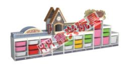 XX-0248C造型玩具收纳柜