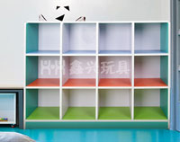 儿童十二洞柜子-幼儿园置物柜