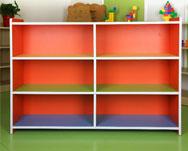 彩色12洞玩具架