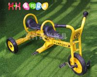 儿童三轮双座车