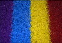 彩色跑道草坪