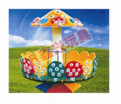 彩色蘑菇转椅